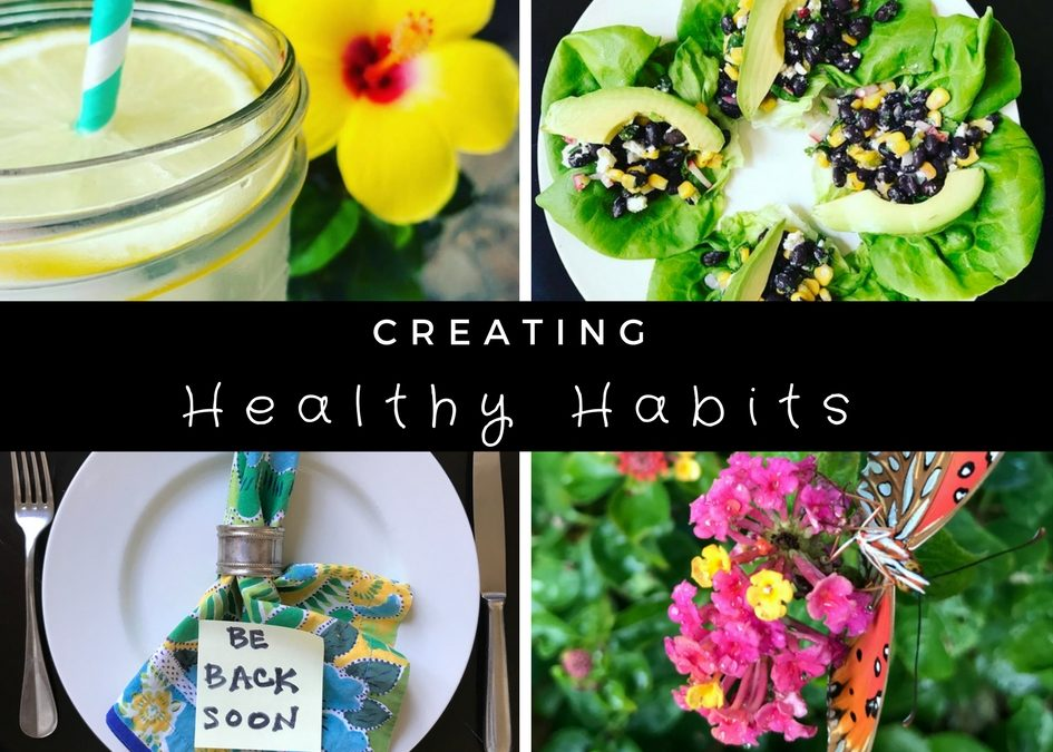 Diets don't work. Create these 4 healthy habits instead.